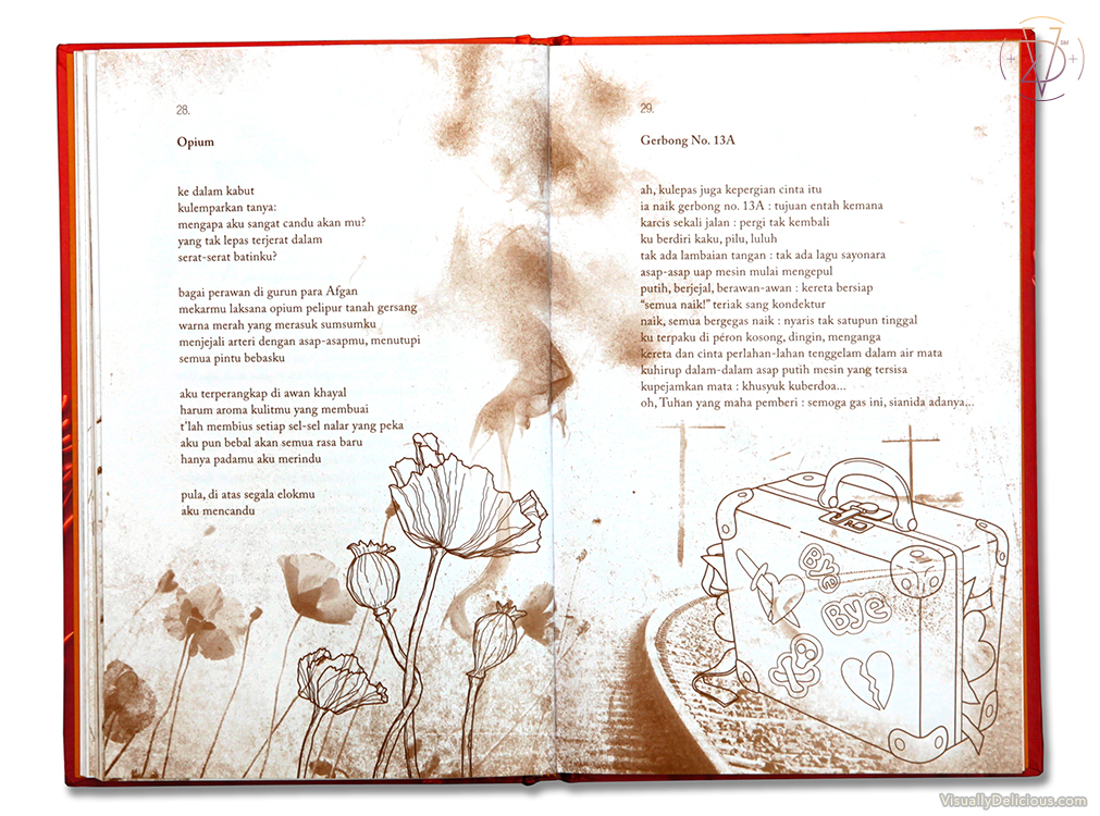 Karamel – Poem Book Illustration